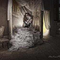 shooting Riccardo Barsalona Haute Couture