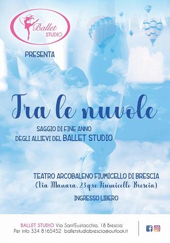 Saggio BALLET STUDIO _ TRA LE NUVOLE